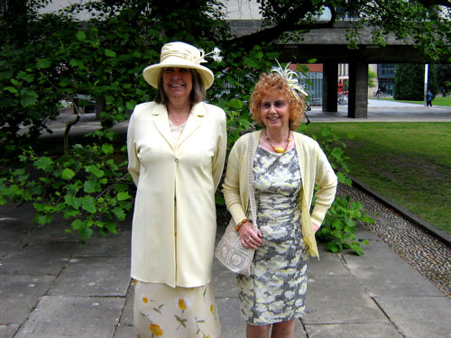 Teresa Gurner and Anne Mason