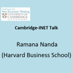 Talk by Ramana Nanda (Harvard Business School)
