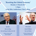 Clare Distinguished Lecture in Economics and Public Policy