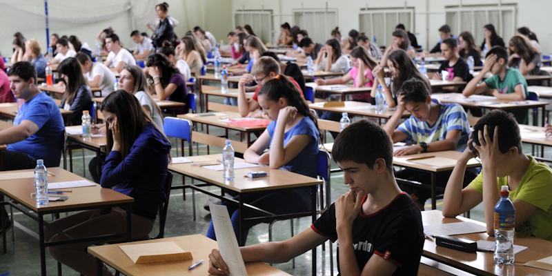 Students Sitting Exam image