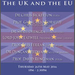 The UK and the EU Event