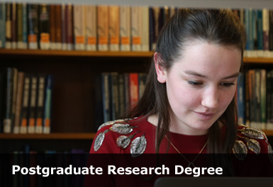 What is the different between a research postgraduate degree and a taught postgraduate degree?