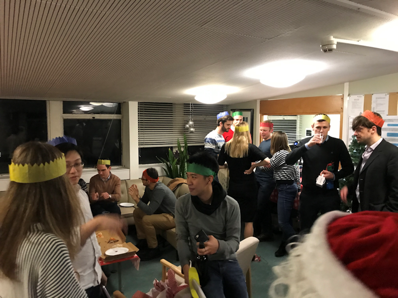 PhD Christmas Party 2019